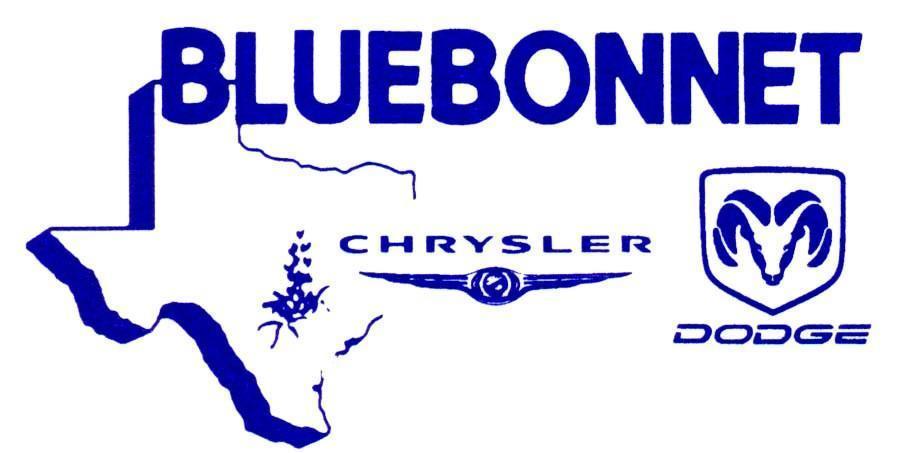 Bluebonnet Chrysler Dodge logo