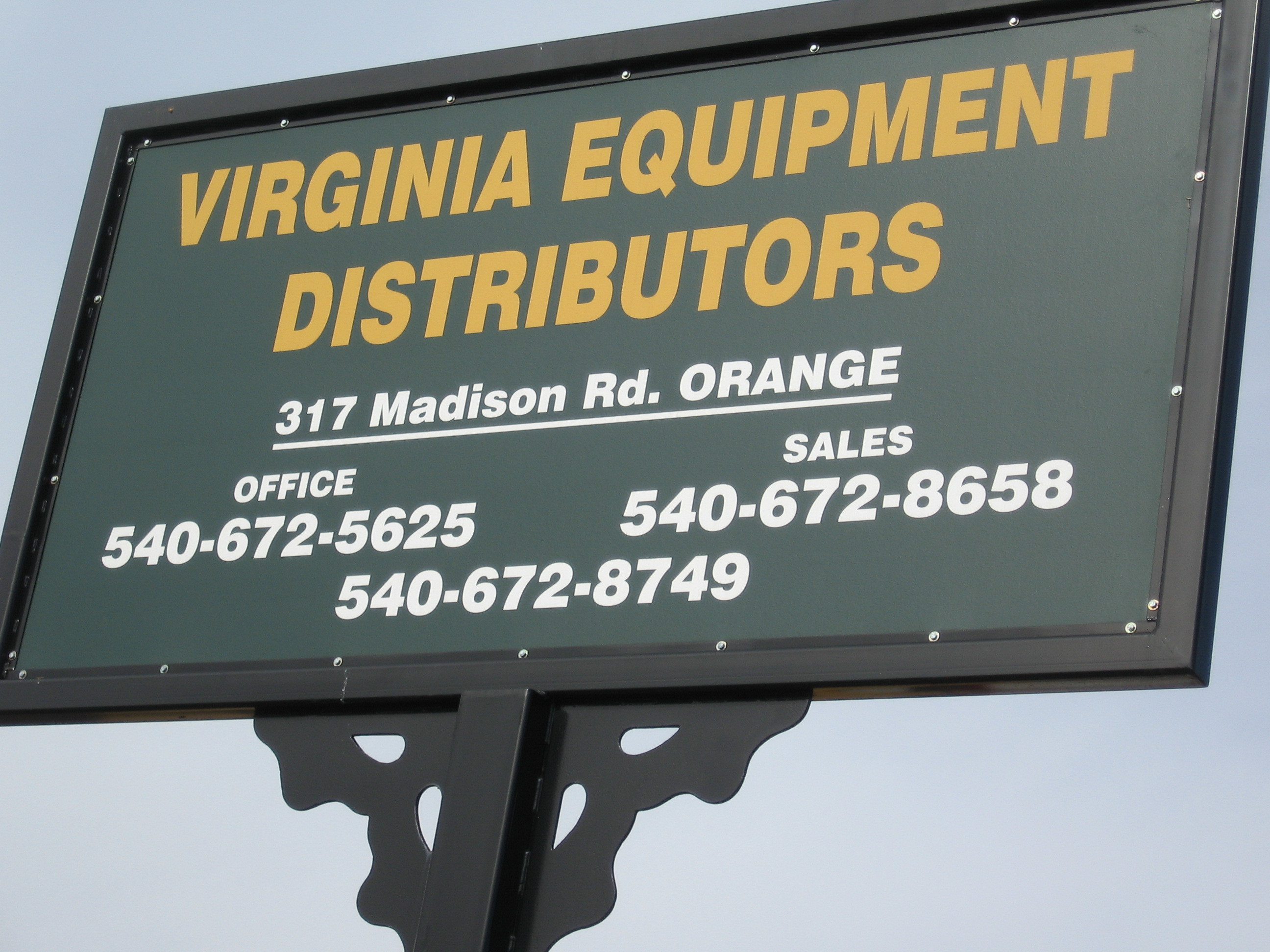 Virginia Equipment Distributors