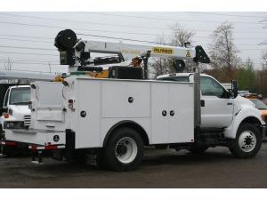 2015 FORD F750 Crane Truck, Shelby Township MI - 111879858 - CommercialTruckTrader.com