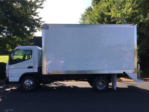 2017 MITSUBISHI FUSO FE130 Box Truck - Straight Truck, Greensboro NC - 113788516 - CommercialTruckTrader.com