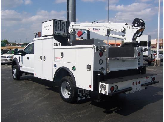 2017 FORD F550 Crane Truck ,FORT WORTH TX - 110575532 - CommercialTruckTrader.com