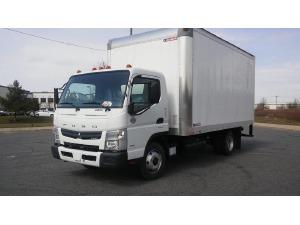 2017 MITSUBISHI FUSO FE160 Box Truck - Straight Truck, Fort Pierce FL - 121103722 - CommercialTruckTrader.com