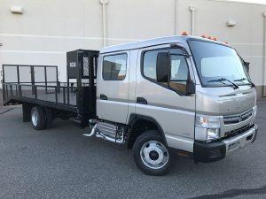 2017 MITSUBISHI FE160 Flatbed Truck, Oklahoma City OK - 121094658 - CommercialTruckTrader.com