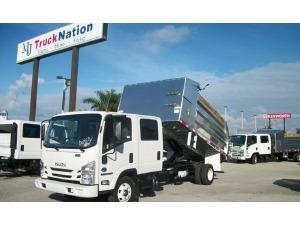 2017 ISUZU NPR Dump Truck, Riviera Beach FL - 120117811 - CommercialTruckTrader.com