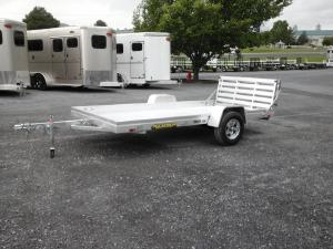 2018 Aluma 6812H BT ATV Trailer, LEXINGTON VA - 123084634 - CommercialTruckTrader.com