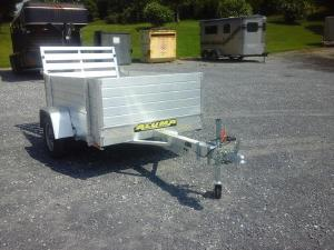 2018 Aluma 48x6 Utility Trailer, LEXINGTON VA - 123084798 - CommercialTruckTrader.com