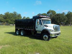 2008 International 7600 Dump Truck, Holly Hill FL - 123341714 - CommercialTruckTrader.com