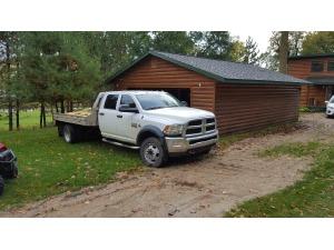2014 Dodge RAM 4500 Flatbed Truck, McClusky ND - 5000224505 - CommercialTruckTrader.com