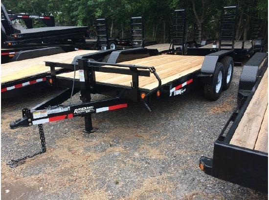 2017 Anderson equipment trailer