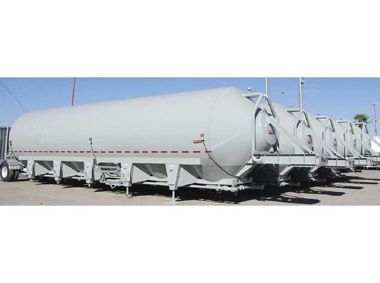 2018 Gallegos TRAILER Pneumatic ,wilmer TX - 5000703327 - CommercialTruckTrader.com