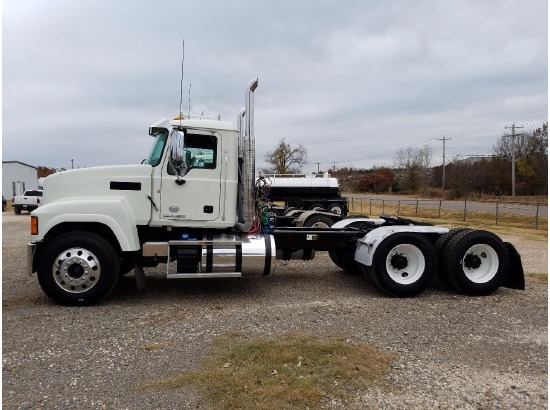 2015 Mack CHU613 Tractor ,Edmond OK - 5000966297 - CommercialTruckTrader.com