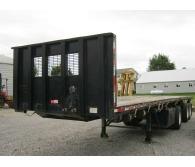 "2005 Clark Trailers 40' x 102"" Flatbed Moffett Forklift Trailer - CommercialTruckTrader.com"