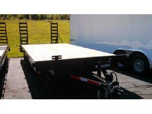 0 OTHER 8 x 20 14,000 lb Deck-Over Utility Trailer, Lincolnton NC - 5001973820 - CommercialTruckTrader.com