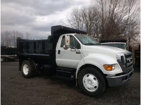 2011 FORD F650 Dump Truck ,Medina OH - 5002009823 - CommercialTruckTrader.com