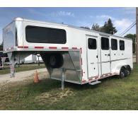 2017 Frontier Trailers Strider 3 horse gooseneck - CommercialTruckTrader.com