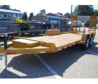 2018 B Wise 20'  EC20-15 K  FLAT DECK* 15,000 gvwr,12,720 lb load - CommercialTruckTrader.com