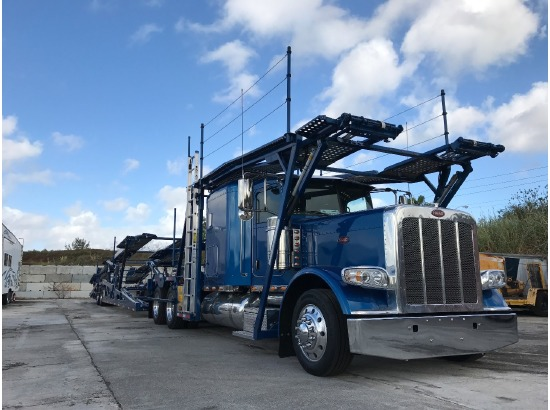 2017 Peterbilt 389 Car Carrier ,Cocoa Beach FL - 5002790590 - CommercialTruckTrader.com