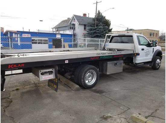 2017 Ford F550 Rollback Tow Truck ,spokane WA - 5003025015 - CommercialTruckTrader.com