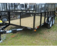 "2018 American 7X16 TANDEM 6'10""X16', SPLIT GATE, WRAPED TONGUE - CommercialTruckTrader.com"