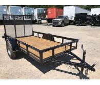 2018 P and T Trailers 5' X 10' A-FRAME S/A - CommercialTruckTrader.com
