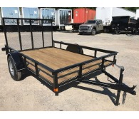 2018 P and T Trailers 6' X 10' S/A A-FRAME - CommercialTruckTrader.com