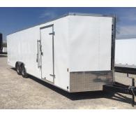 2018 Continental Cargo 8' X 20' Enclosed Utility Trailer - CommercialTruckTrader.com