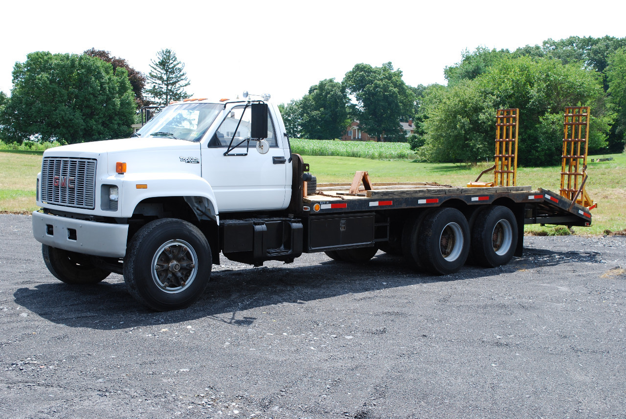 Gmc Flatbed Truck Trucks For Sale 1976 Chevy 4x4 3 4 Ton