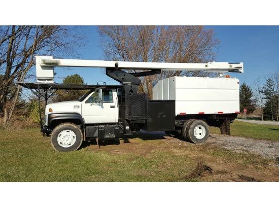 2002 GMC C6500 Bucket Truck - Boom Truck ,Fort Wayne IN - 5001003334 - CommercialTruckTrader.com