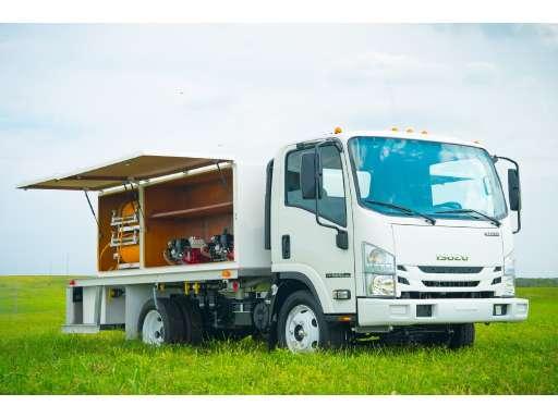 2019 ISUZU NPR HD Cabover Truck - COE, Flatbed Truck, Spray Truck