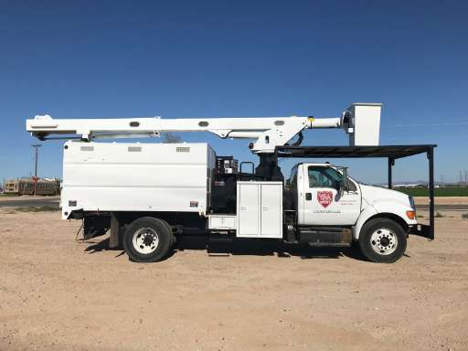 Used Bucket Trucks For Sale >> 2007 Ford F750 Bucket Truck Boom Truck