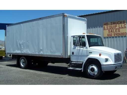 1996 FREIGHTLINER FL60 Box Truck - Straight Truck, Cargo Van, Moving Van