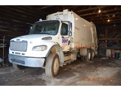 Trash Trucks For Sale >> 2015 Freightliner Business Class M2 106 Garbage Truck
