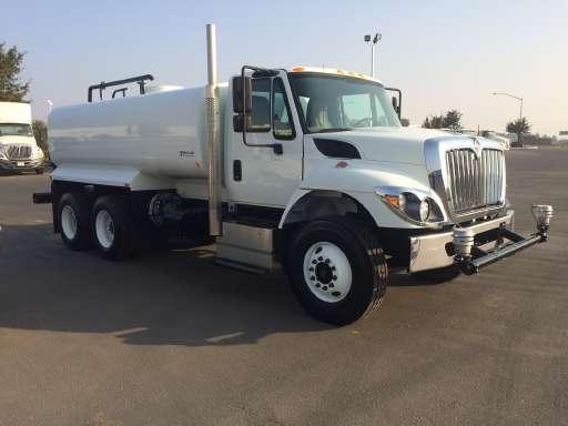 Water Tank Trucks For Sale in California