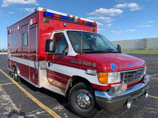 Ambulance For Sale >> 2006 Ford E450 Ambulance