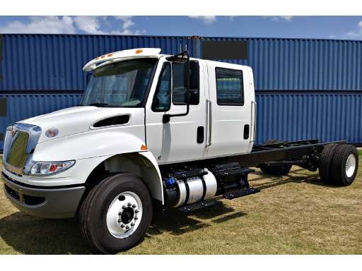 Crew Cab Trucks For Sale >> 2019 International Durastar 4300 Cab Chassis