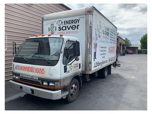 2003 mitsubishi fuso fe639 box truck - straight truck in eugene, or