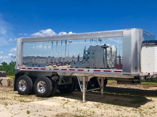 Semi Dump Trailers >> 2020 Trailstar Aluminum Dump End Dump Trailer