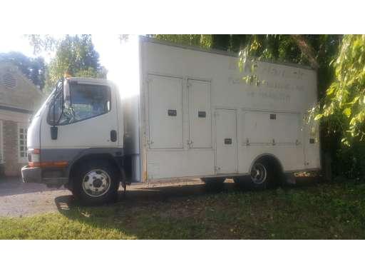 2003 MITSUBISHI FUSO FE639 Utility Truck - Service Truck