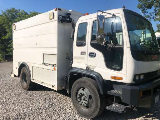 2002 GMC T7500 Utility Truck - Service Truck