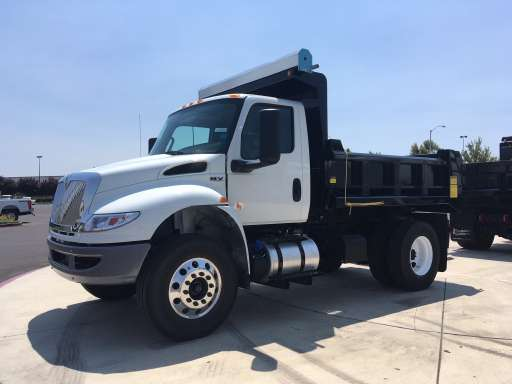2019 International MV607 Dump Truck