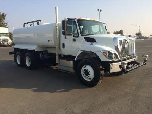 2016 International 7500 Water Tank, Tanker Truck