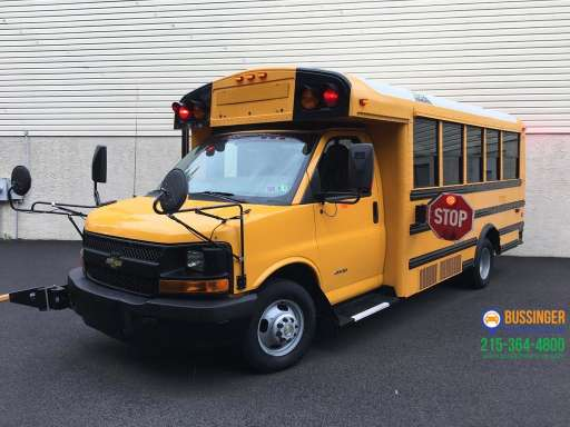 2014 CHEVROLET EXPRESS Bus