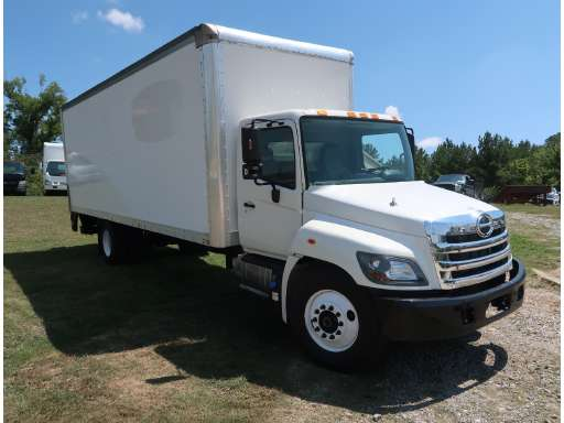 2017 HINO 268A Cab Chassis, Box Truck - Straight Truck
