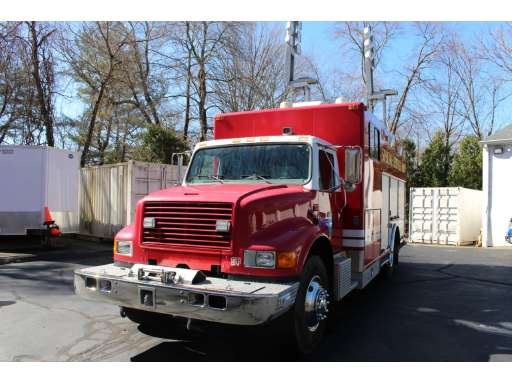 1996 International 4900 Mechanics Truck