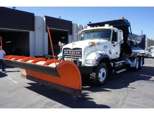 Plow Trucks For Sale >> 2009 Mack Granite