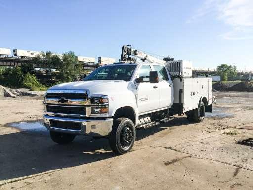 2019 CHEVROLET SILVERADO 6500HD Utility Truck - Service Truck, Mechanics  Truck
