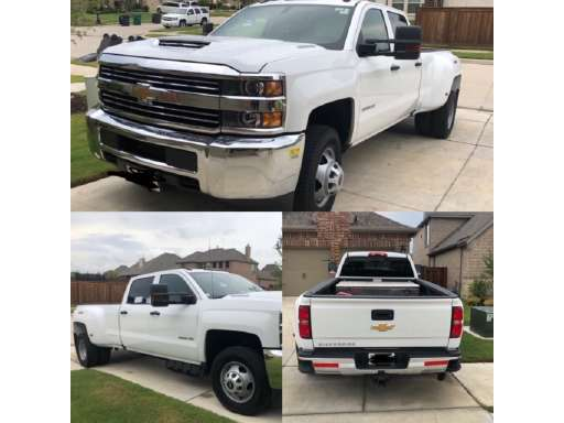 2018 Chevrolet Silverado 3500hd Dually