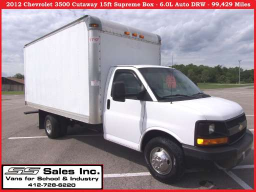 Express G3500 For Sale Chevy Express G3500 Box Truck Straight Trucks Commercial Truck Trader