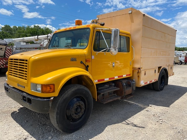 Used, 2002, INTERNATIONAL, 4700, Cab Chassis