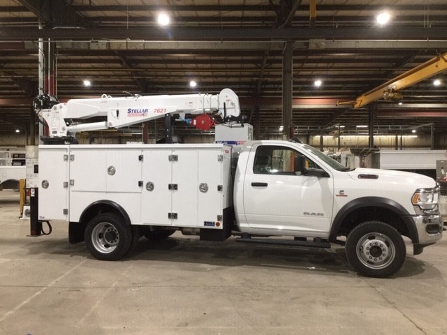 Used, 2020, RAM, 5500, Crane Truck